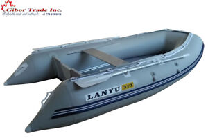 New 10 ft inflatable boat with Aluminum floor, dinghy