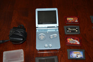 Game Boy Advanced in excellent condition with 8 games!!!!