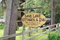 Lakefront Cottage for 6 for $160/night