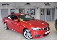 2014 14 BMW 2 SERIES 2.0 220D M SPORT 2D AUTO 181 BHP DIESEL