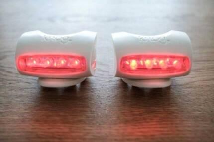 DOWNSIZING SALE: 2 x Knog Skink Bicycle Rear Lights -- EXCELLENT!