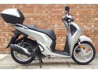 Honda SH 125 (18 REG), NEW SHAPE, less than 3 months old! Only 1770 miles!