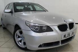 2006 06 BMW 5 SERIES 2.0 520D SE 4DR AUTOMATIC 161 BHP DIESEL