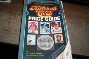 1983 Baseball Price guide for topps, opc, jello, stickers ect
