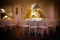 White Chiavari Chairs for Rent - $5 per chair for 2019 Weddings!