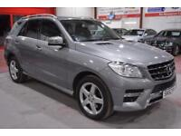 2012 62 MERCEDES-BENZ M CLASS 2.1 ML250 BLUETEC SPORT 5D AUTO 204 BHP DIESEL