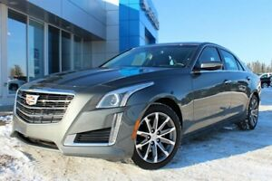 2016 Cadillac CTS 2.0L Turbo Luxury Warranty Low Kms Sunroof
