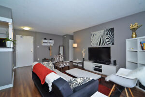 Gorgeous furnished condo 2bdr/1 parking Finch & Weston all incl.