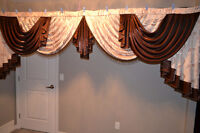 HAND MADE CURTAINS.