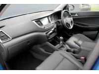 2017 Hyundai Tucson 1.7 CRDI Blue Drive Premium 2WD Diesel blue Manual