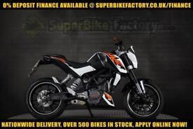 2013 63 KTM DUKE 125CC 0% DEPOSIT FINANCE AVAILABLE