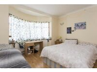 Very spacious Double/Twin rooms in a serviced house with garden, Short & Long let