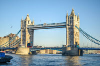London Tour with Air from Saint John from CA $1,888 tax included