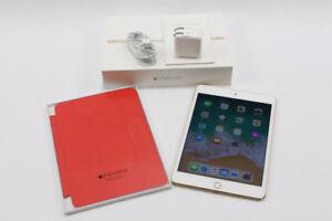 Ipad mini 4 128Go apple care août 2019 + smart cover 379.95$