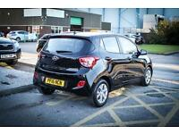 2016 16 HYUNDAI I10 1.0 SE 5dr in Phantom Black
