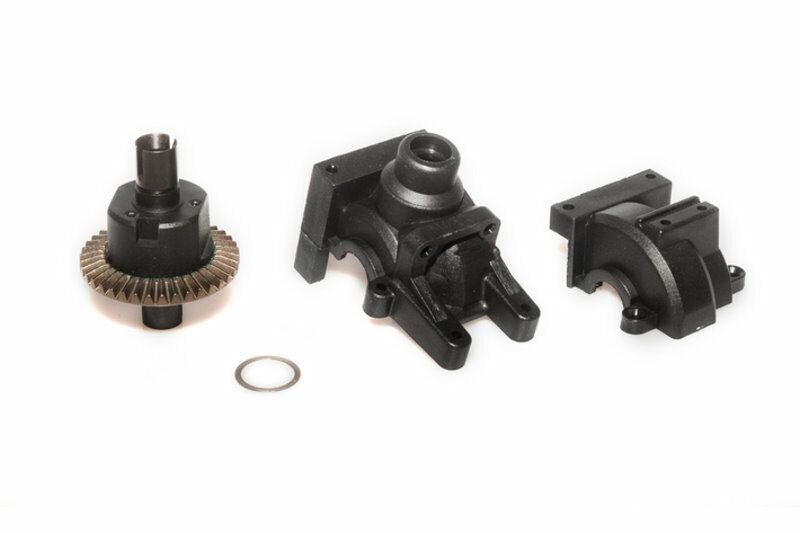 2 Stücke Metall Achsschenkel Trägerblöcke für 1//10 LRP S10 Blast 2 RC Auto