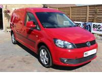 2014 VOLKSWAGEN CADDY MAXI C20 TDI 140 HIGHLINE BMT PANEL VAN DIESEL