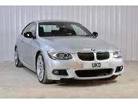 BMW 3 SERIES 335D 3.0 DIESEL COUPE SILVER 2012 TOP SPEC
