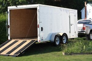2015 Haulmark Passport Trailer - 16' Dual Axle Ramp Door