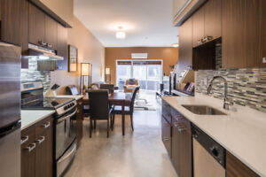 Executive condo in trendy neighbourhood, close to downtown