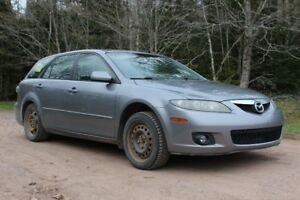 2006 Mazda 6 Wagon: Selling 'as is'.  Inspection up in Sept.