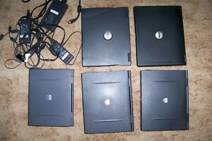 Lot of 9 OLD Parts Laptops and Laptop Accessories