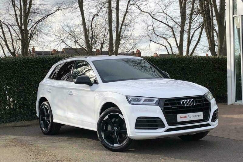 2019 audi q5 black edition 40 tdi quattro 190 ps s tronic diesel white semi auto
