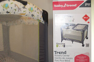 """BABY TREND NURSERY CENTRE""- Tossed Animals"
