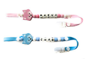 Personalized Pacifier Clip - Free Shipping