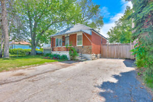 3Bed Rm Bungalow + basement unit in  lakeview area 4 sale
