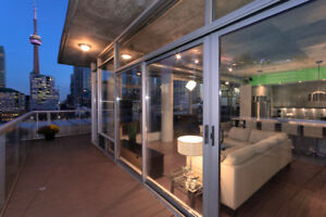 Come and See the View From Here! Unbelievable PH#4 on John St.!