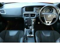 2013 Volvo V40 1.6 D2 R-DESIGN NAV 5d 113 BHP Hatchback Diesel Manual