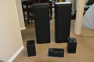 5 home theater speakers