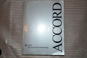 Accord 2003-2006 Electrical Troubleshooting Book West Island Greater Montréal image 1