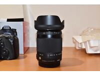 Sigma 18-300 F3.5-6.3 DC makro Contemporary (canon fit) as new