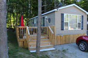 GREAT LOCATION – QUIET AREA IN MUSKOKA SEASONAL COTTAGE RESORT