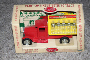 Retro Vintage Coke Truck Tin Toy