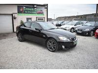 Lexus IS 250 2.5 Sport 4 DOOR MANUAL BLACK 2007 MODEL +BEAUTIFUL+