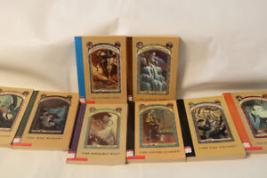 A series of unfortunate events book collection