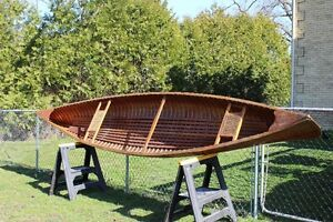 Peterborough Lakequeen Cedarstrip 16ft Canoe (1958)