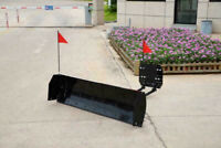 ATV / UTV UNIVERSAL SNOW PLOW 60 BLADE FREE SHIPPING CANADA North Bay Ontario Preview