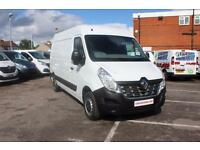 2015 Renault Master LM35dCi 125 Business Medium Roof Van Diesel white Manual