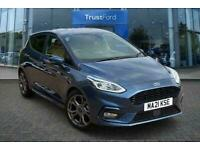 2021 Ford Fiesta 1.0 MHEV 125 ST-LINE EDITION 5DR WITH SAT NAV AND REAR SENSORS!