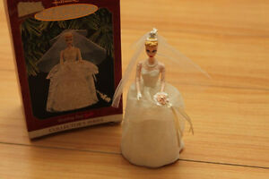 Keepsake Hallmark Ornament Wedding Day Barbie Collector's Series
