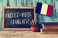 NATIVE FRENCH SPEAKER TUTOR