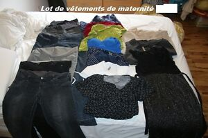 Lot de vêtements de maternité