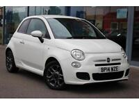 2014 FIAT 500 1.2 S GBP30 TAX, BLUETOOTH and ALLOYS