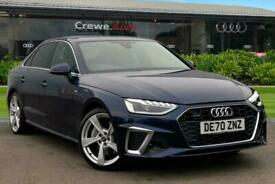 2020 Audi A4 S line 45 TFSI quattro 245 PS S tronic Auto Saloon Petrol Automatic