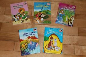 livres collection DISNEY
