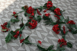 Christmas Berry Garlands- See Photos